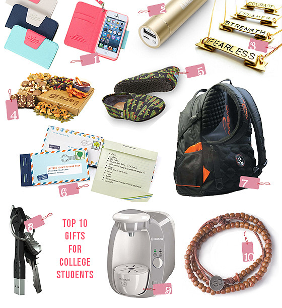 Christmas Gift Ideas For College Student  Top 10 Thursdays Great Gifts for College Students