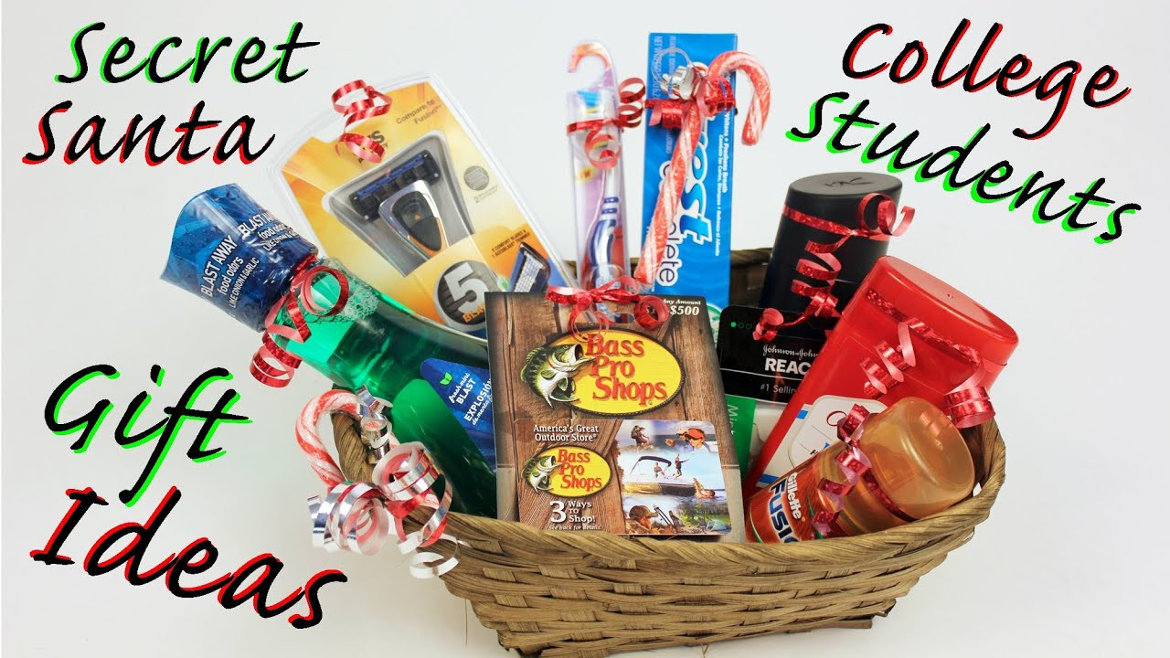 Christmas Gift Ideas For College Student  Gift Ideas for College Students & Secret Santa