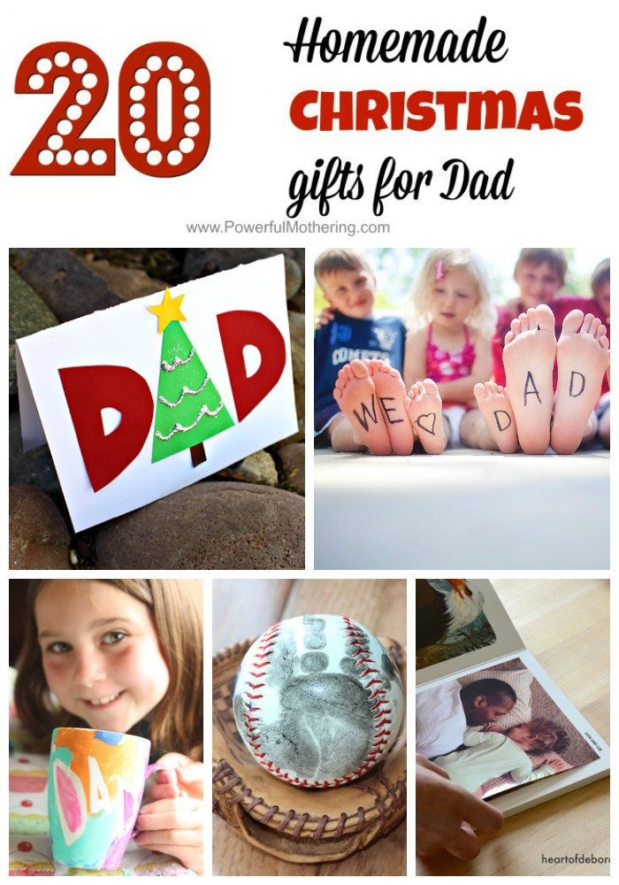 Christmas Gift Ideas For Dads  Homemade Christmas Gifts for Dad So Thoughtful