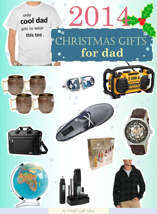 Christmas Gift Ideas For Dads  What Christmas Present to Get for Dad