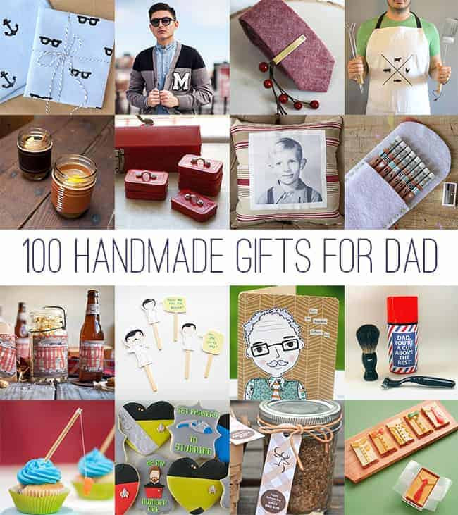 Christmas Gift Ideas For Dads  DIY Father s Day 100 Handmade Gifts for Dad