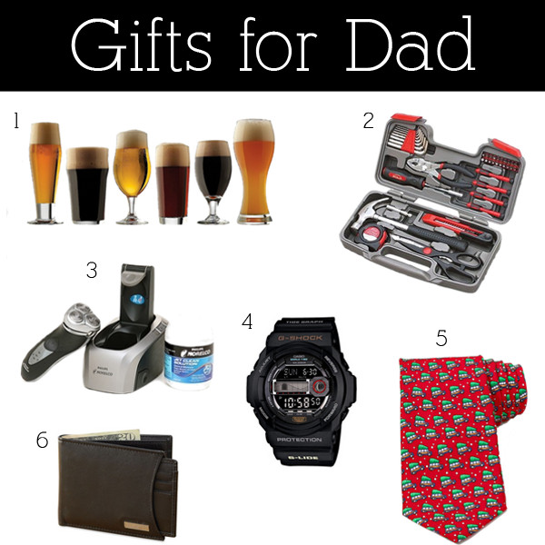Christmas Gift Ideas For Dads  Christmas Gifts For Dad