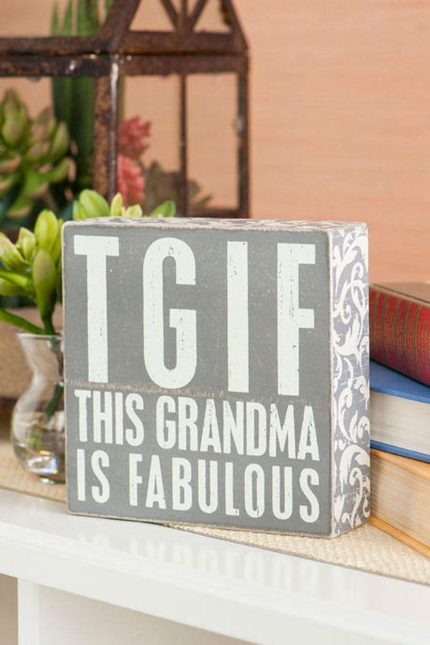 Christmas Gift Ideas For Grandma  Best 25 Grandma birthday presents ideas on Pinterest
