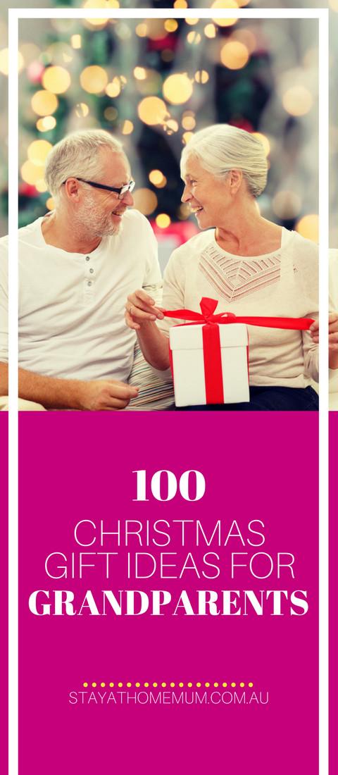 Christmas Gift Ideas For Grandma  100 Christmas Gift Ideas for Grandparents