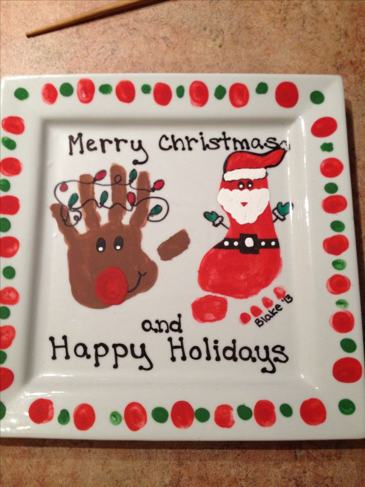 Christmas Gift Ideas For Grandma  1018 best images about Kids Handprint & Footprint Crafts