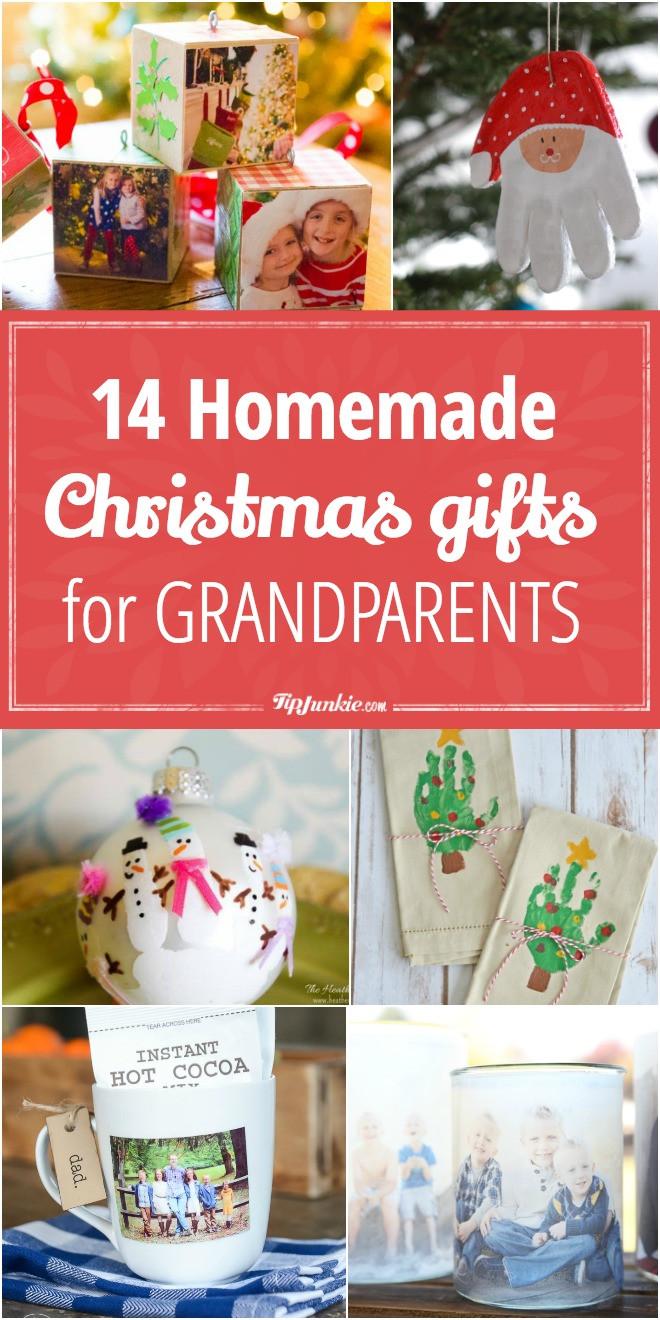 Christmas Gift Ideas For Grandma  14 Homemade Christmas Gifts for Grandparents – Tip Junkie