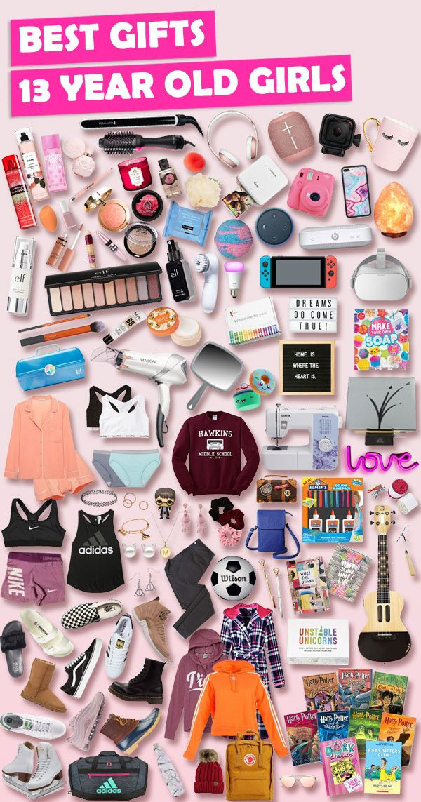 Christmas Gift Ideas For Her 2019  Best Gift Ideas for 13 Year old Girls [Extensive List