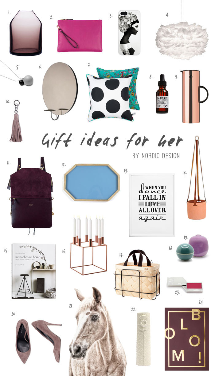 Christmas Gift Ideas For Her 2019  Gift Ideas for Her NordicDesign