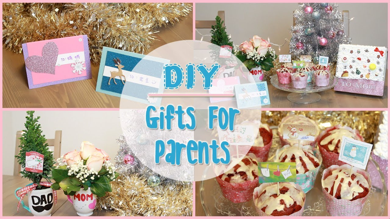 Christmas Gift Ideas For Moms And Dads  DIY Holiday Gift Ideas for Parents