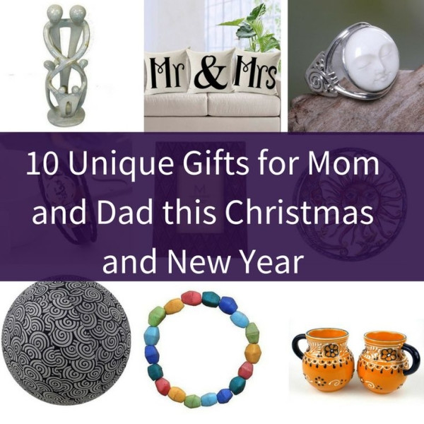 Christmas Gift Ideas For Moms And Dads  10 Unique Gifts for Mom and Dad this Christmas and New Year