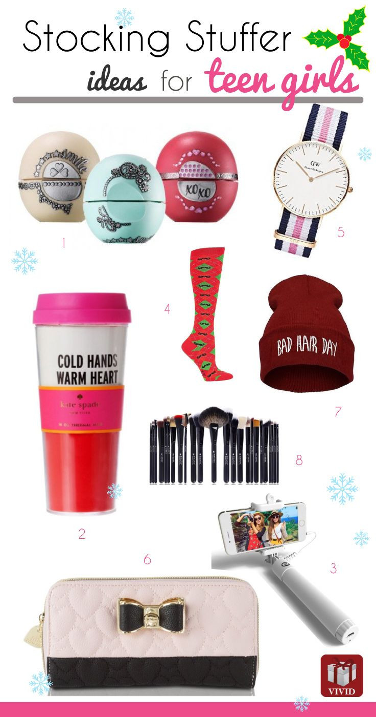 Christmas Gift Ideas For Teenage Daughter  Best 25 Stocking stuffers for teens ideas on Pinterest