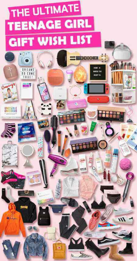 Christmas Gift Ideas For Teenage Daughter  Christmas Gifts for Teenage Girls List