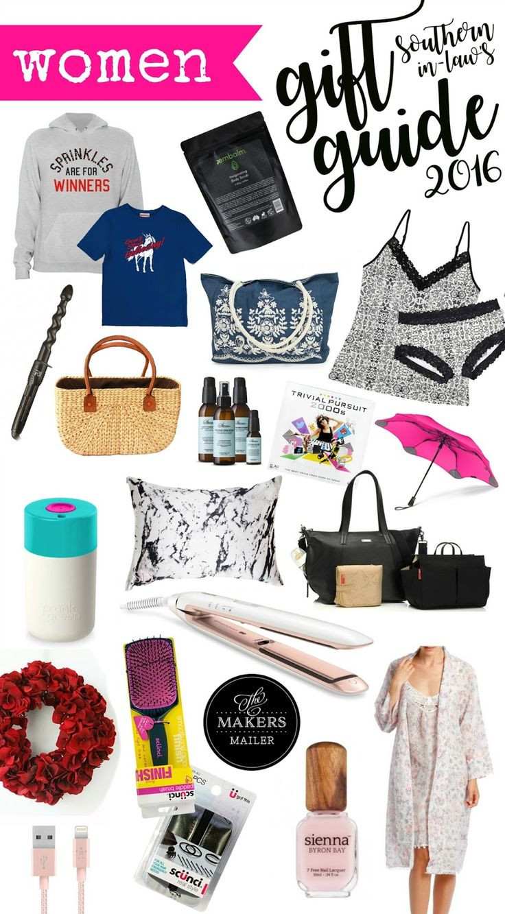 Christmas Gift Ideas For Women  38 best Southern In Law Gift Guide images on Pinterest