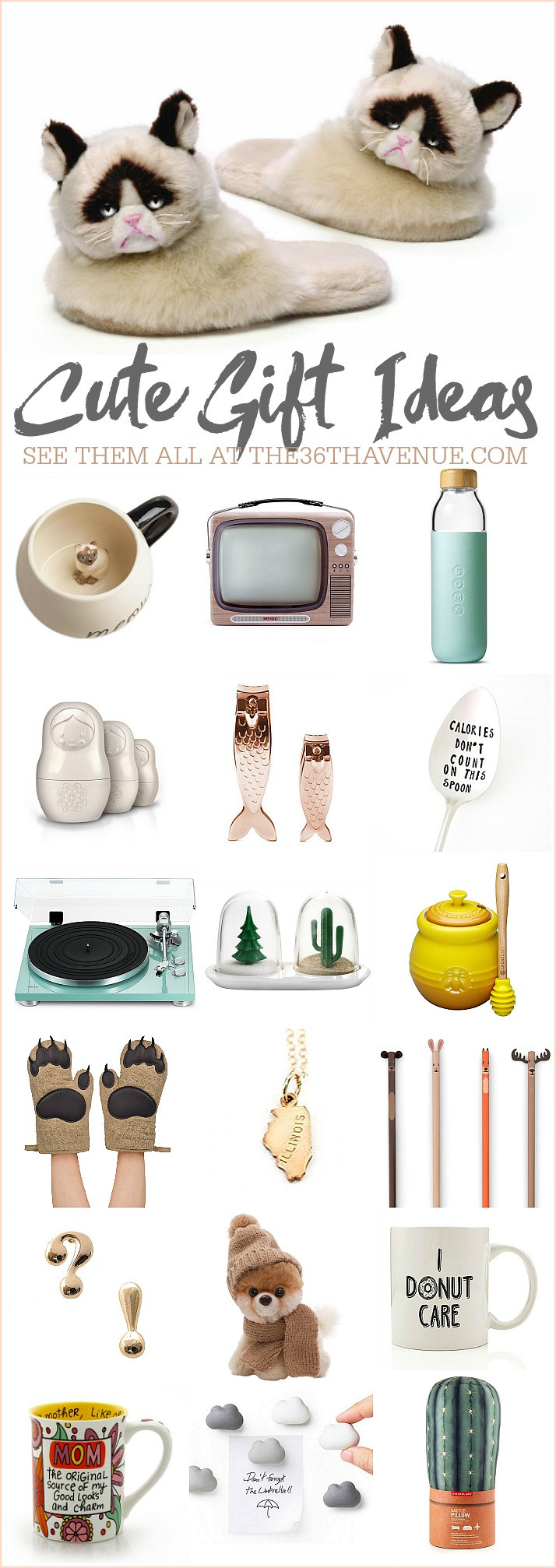 Christmas Gift Ideas For Women  25 Gift Ideas Cute Women Gifts The 36th AVENUE