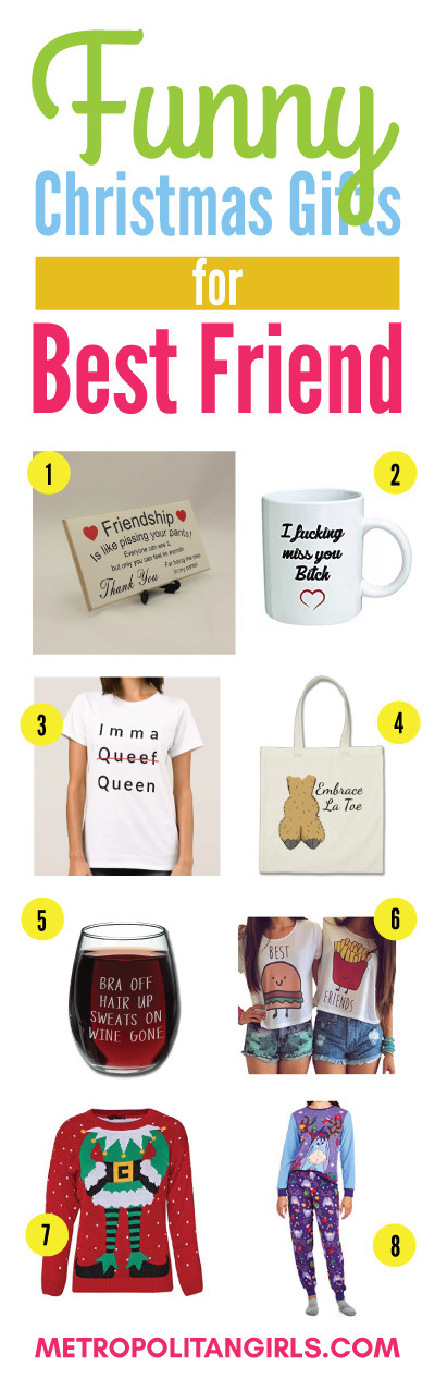 Christmas Gift Ideas For Your Best Friend  Christmas Gift Ideas for Best Friend 2018 Metropolitan Girls