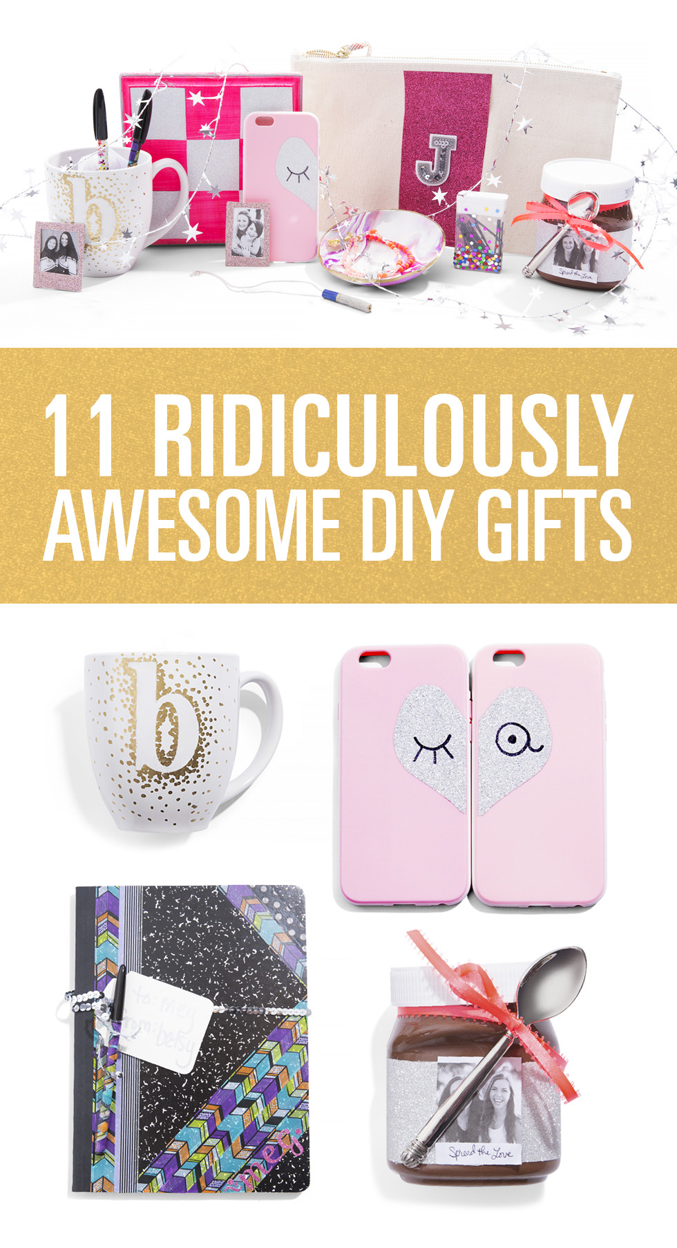 Christmas Gift Ideas For Your Best Friend  DIY Gifts For Friends DIY Gifts
