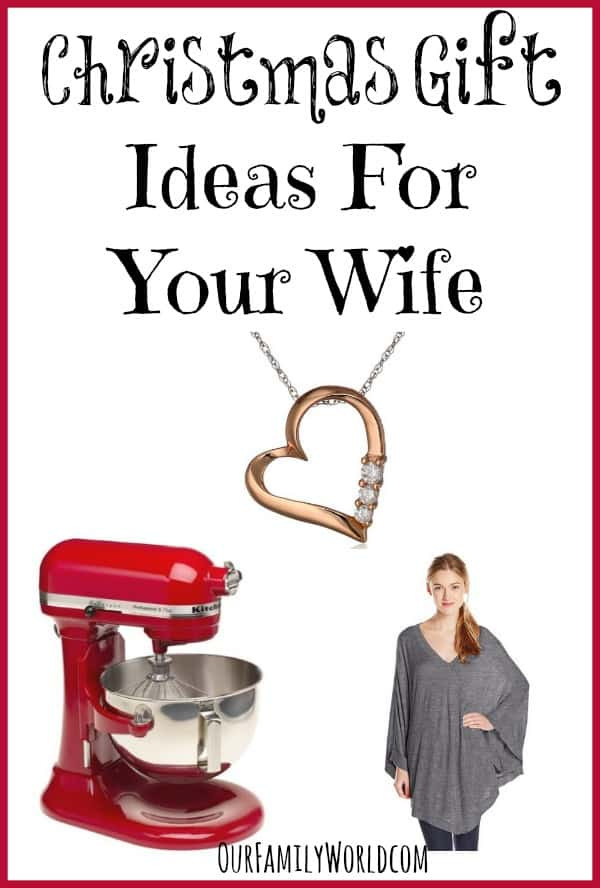 Christmas Gift Ideas For Your Wife  Christmas Gift Ideas for Wife OurFamilyWorld