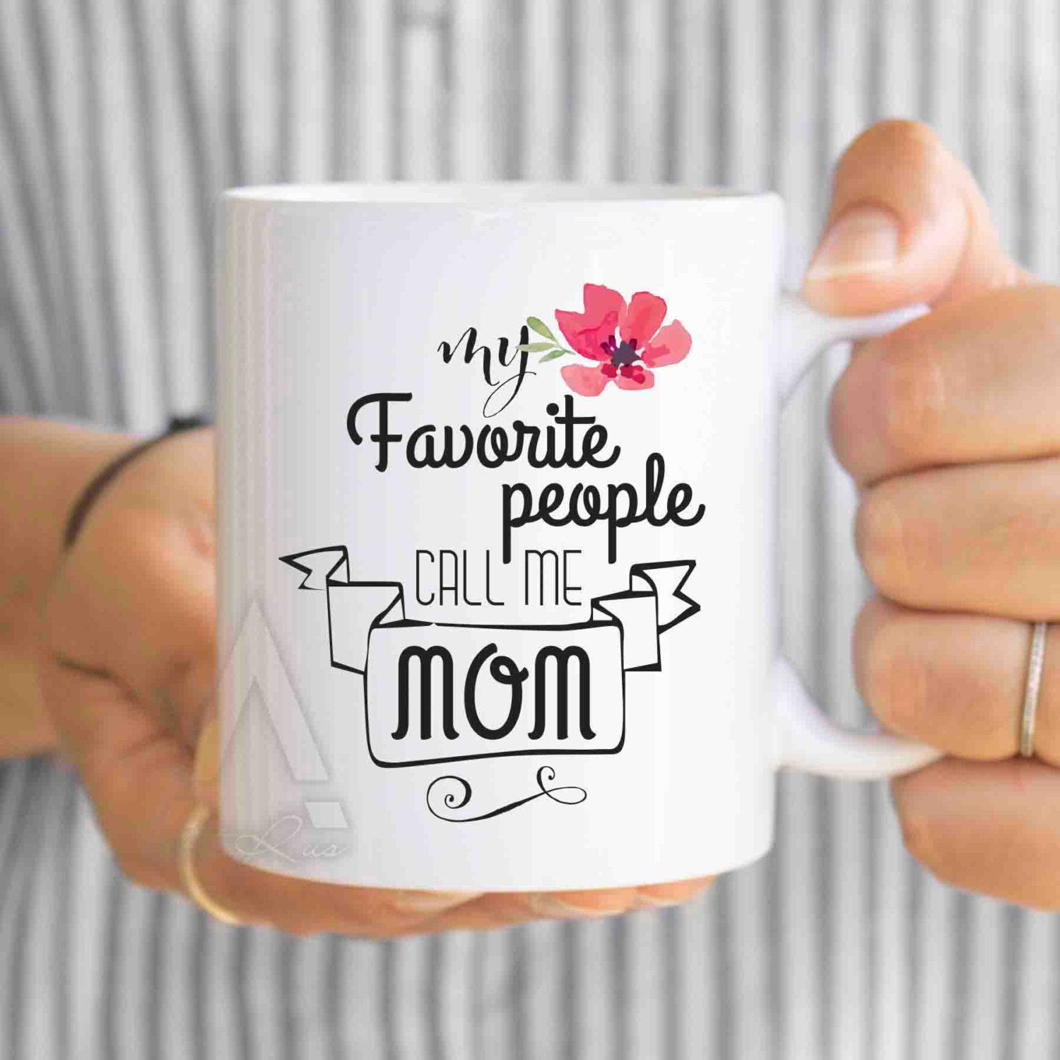 "Christmas Gift Ideas Son  christmas ts for mom mom son t ""My favorite people"