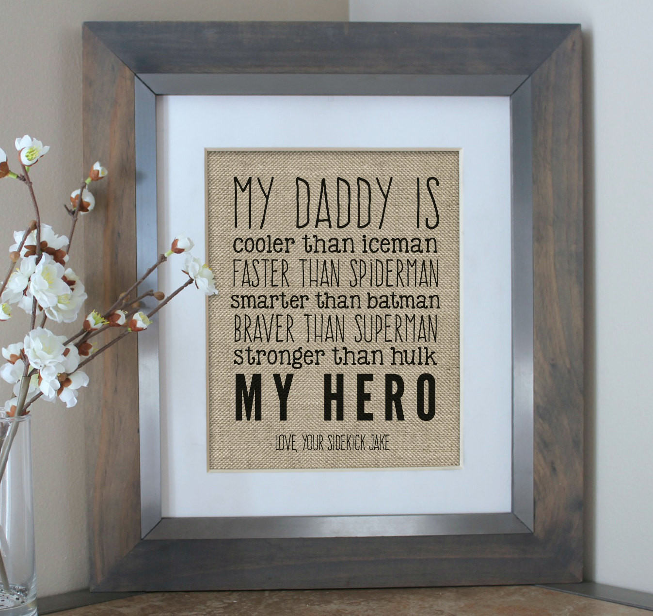 Christmas Gift Ideas Son  First Christmas Gift for Dad Christmas Gift from Son