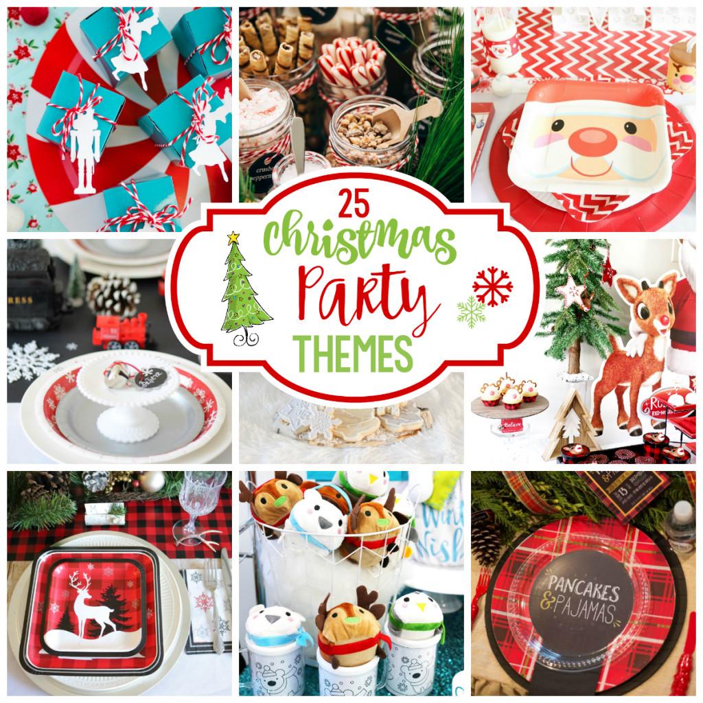 Christmas Holiday Party Ideas  25 Fun Christmas Party Theme Ideas – Fun Squared