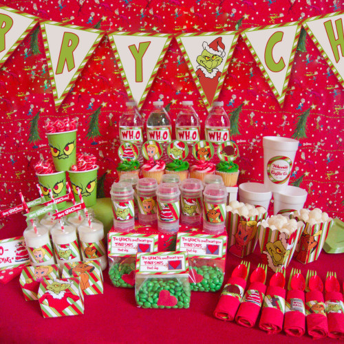 Christmas Holiday Party Ideas  Grinch Christmas party ideas
