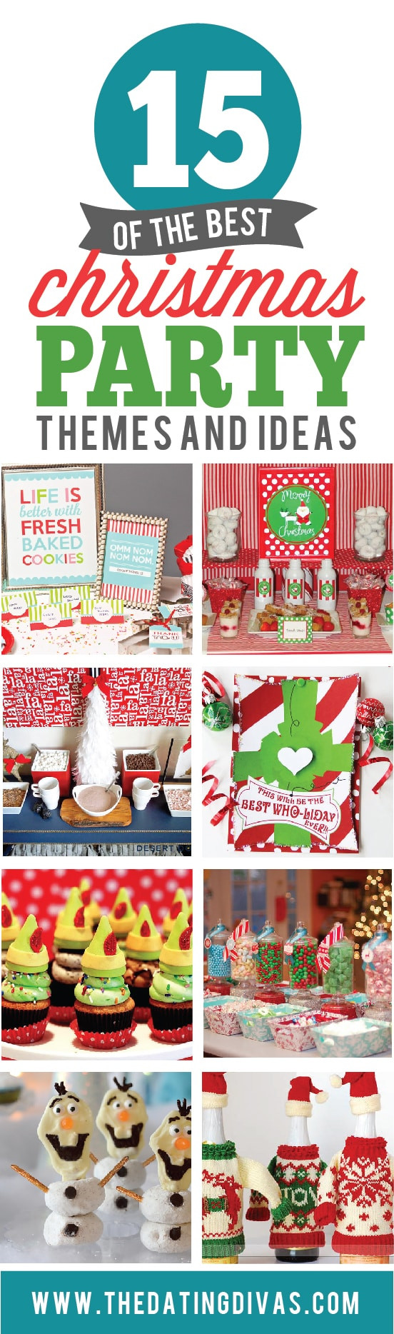 Christmas Holiday Party Ideas  15 Christmas Party Themes From the Dating Divas
