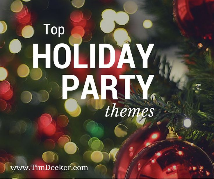 Christmas Holiday Party Ideas  The 25 best Christmas party themes ideas on Pinterest