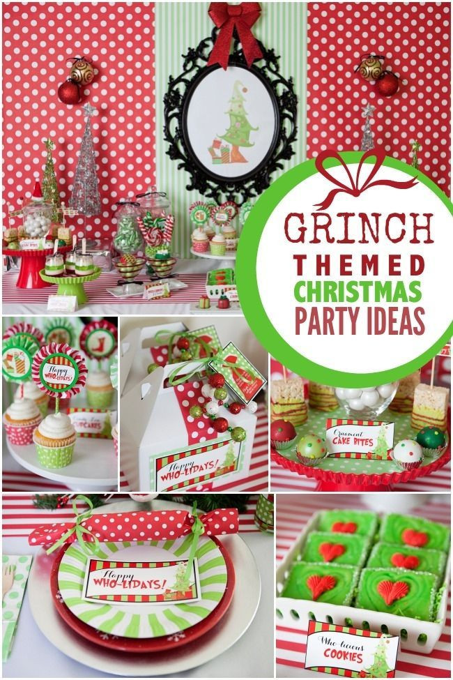 Christmas Holiday Party Ideas  Best 25 Christmas party themes ideas on Pinterest