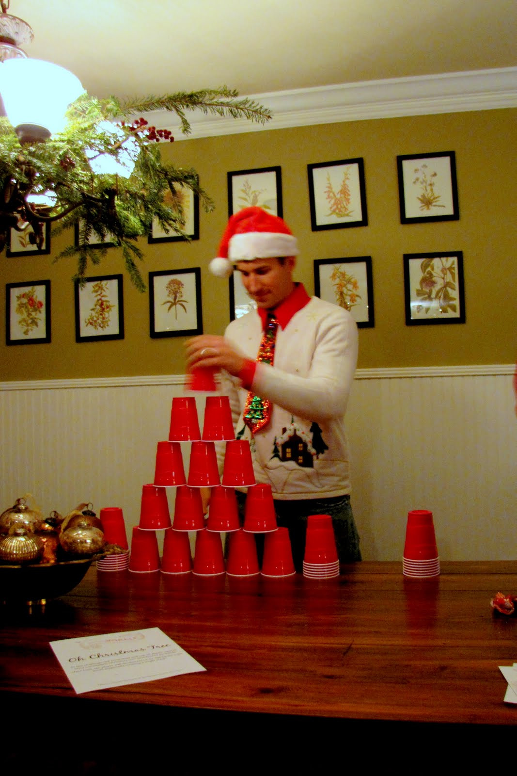 Christmas Holiday Party Ideas  Minute To Win It Christmas Party Part 1