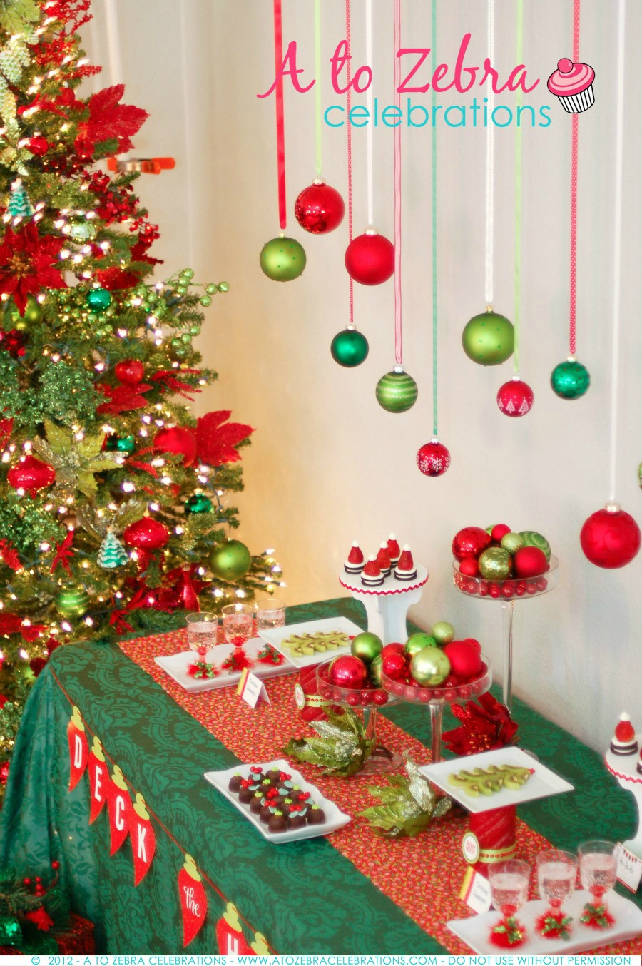 Christmas Holiday Party Ideas  Ornament Exchange Party Tips – A to Zebra Celebrations