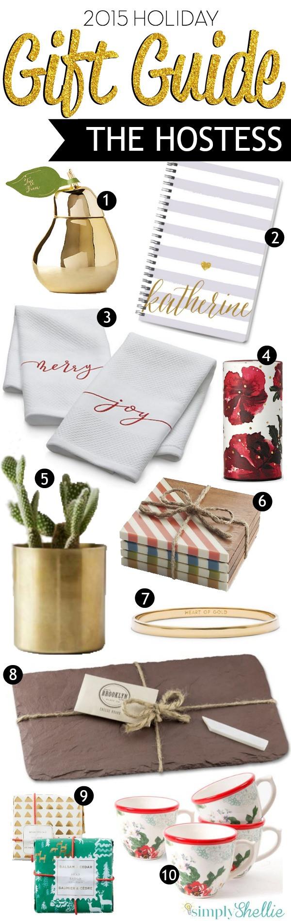 Christmas Hostess Gift Ideas  Holiday Gift Guide Fabulous Hostess Gift Ideas