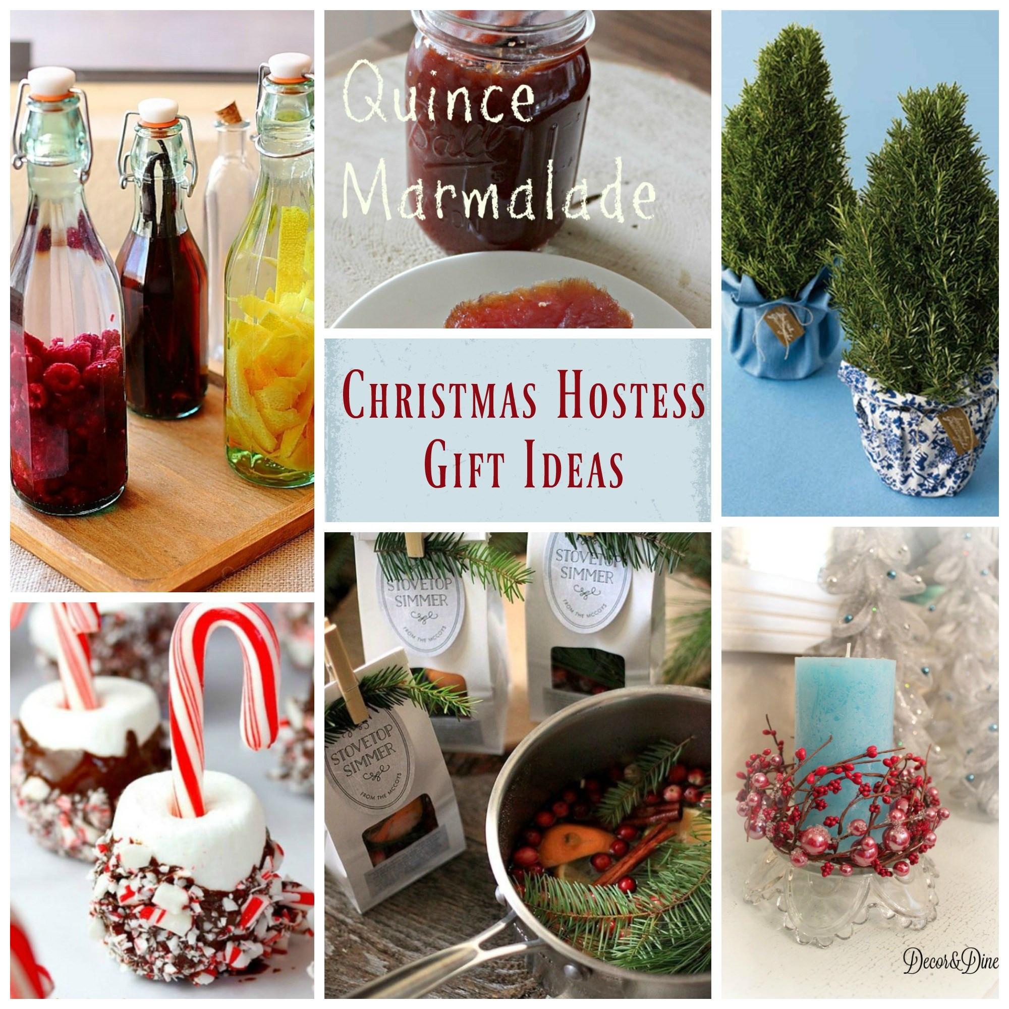 Christmas Hostess Gift Ideas  Christmas Hostess Gift Ideas
