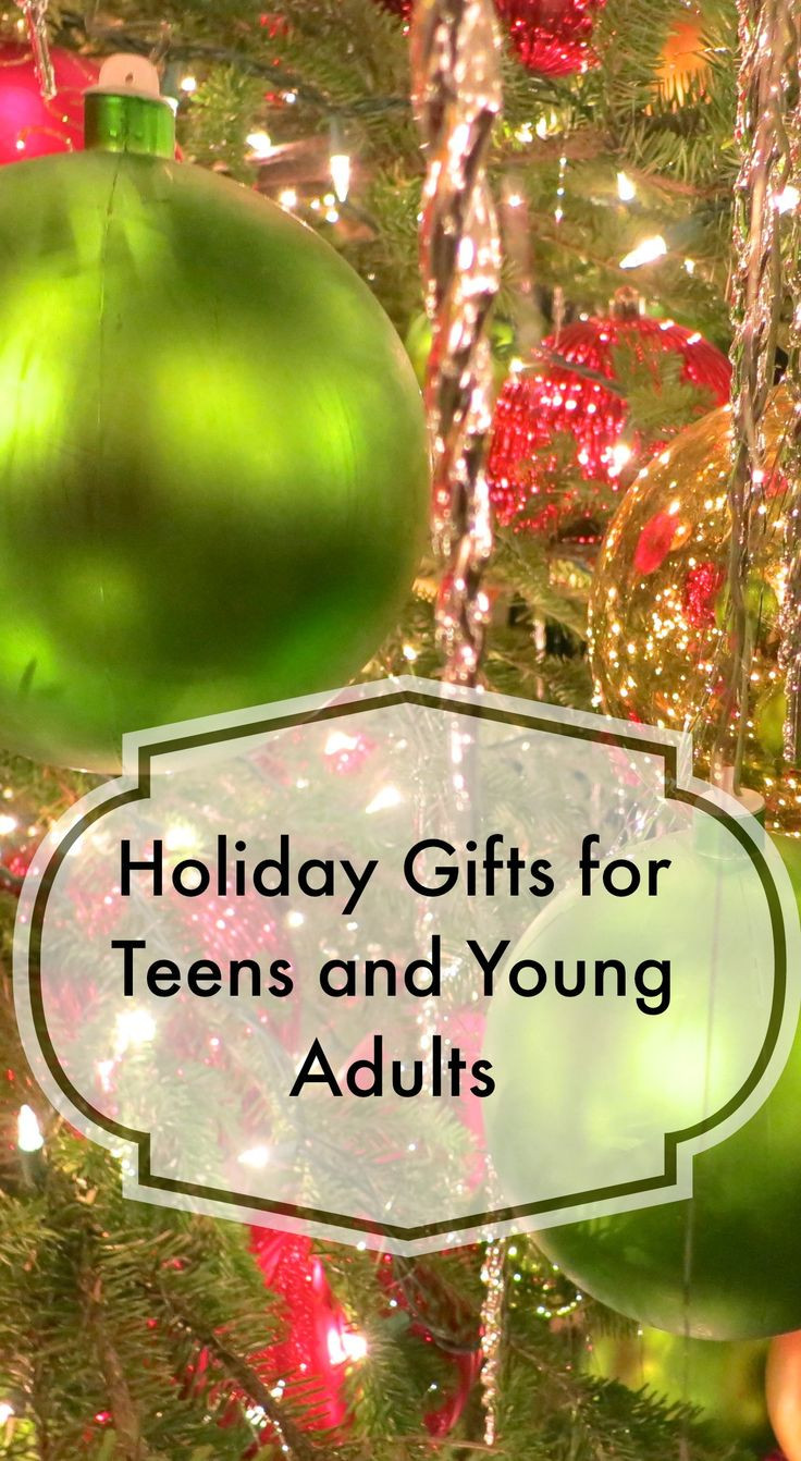 Christmas Ideas For Adults  Here is a list of holiday ts for teens and young adults