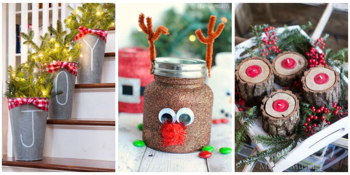 Christmas Ideas For Adults  55 Easy Christmas Crafts Simple DIY Holiday Craft Ideas