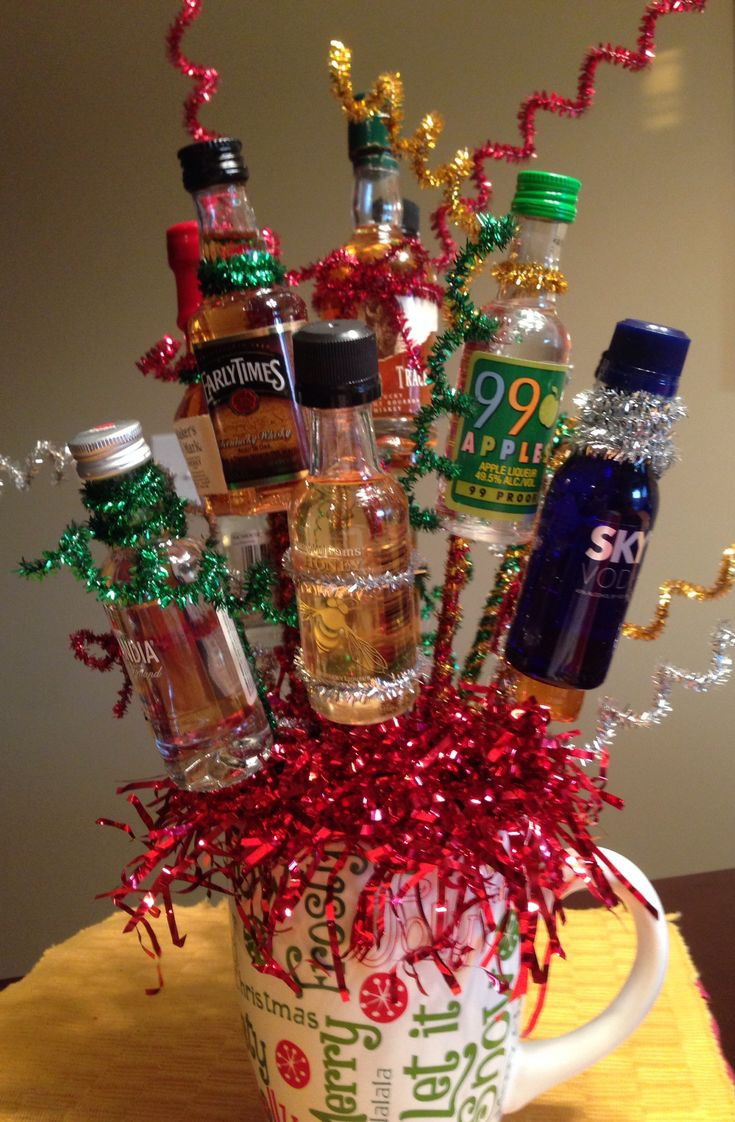 Christmas Ideas For Adults  Made this last night for Christmas t exchange for