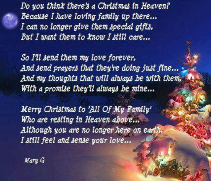 Christmas In Heaven Quotes  Missing Parents At Christmas Quotes QuotesGram