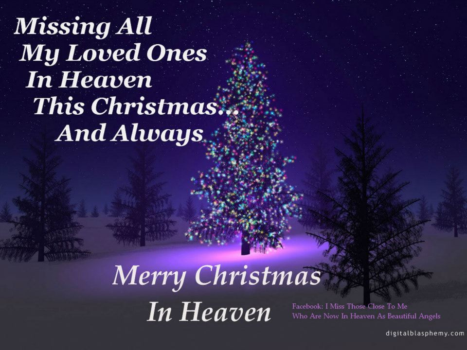 Christmas In Heaven Quotes  Mother Grieving Loss of Child