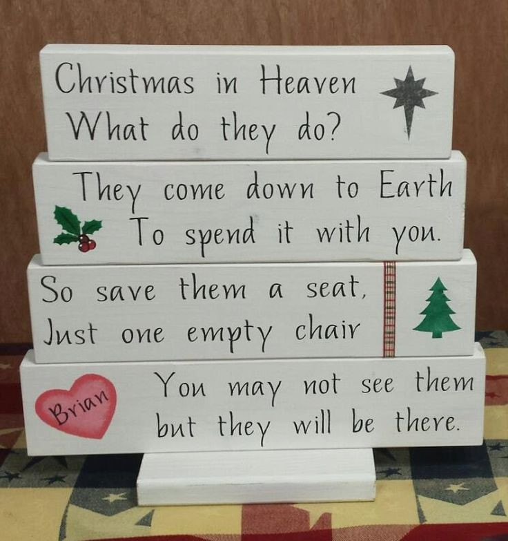 Christmas In Heaven Quotes  17 Best ideas about In Memory on Pinterest