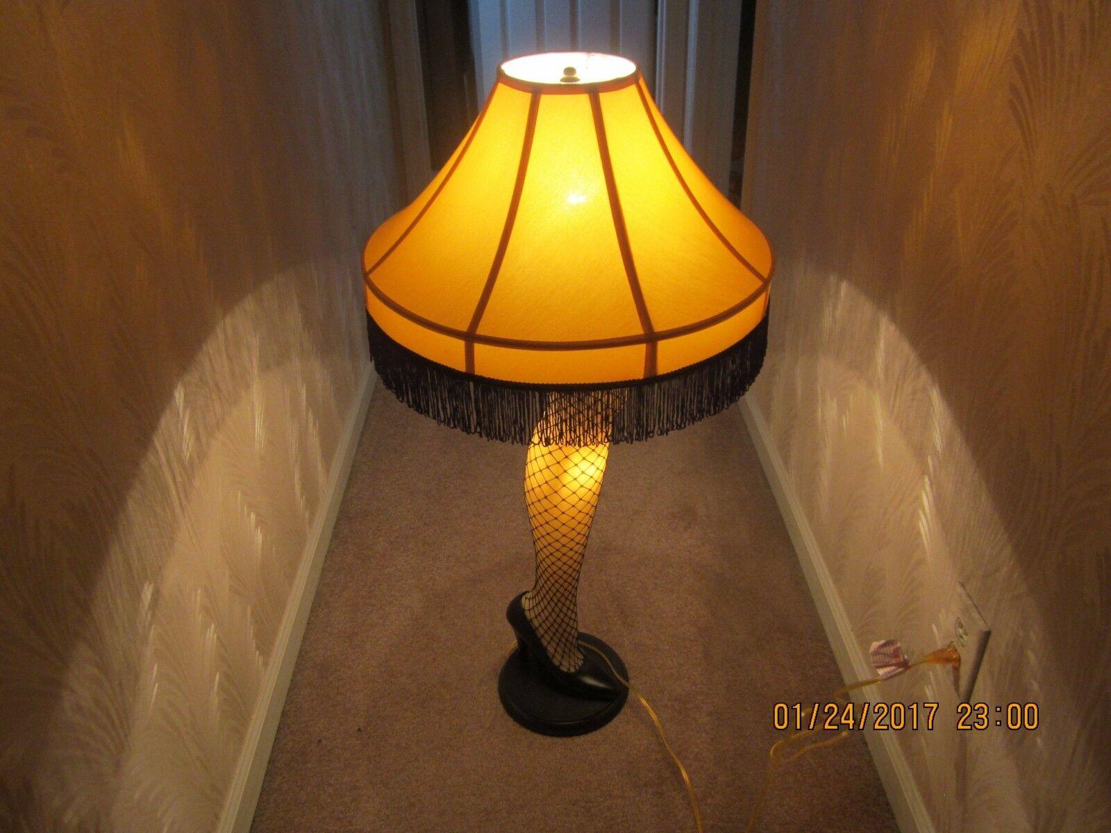 Christmas Leg Lamp Full Size  A CHRISTMAS STORY Full Size 40 Inch Leg Lamp Prop Replica