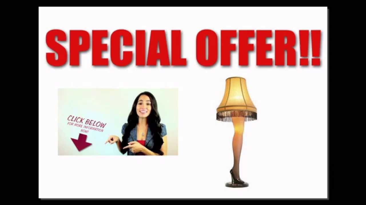 Christmas Leg Lamp Full Size  [Best Price Free Shipping] A Christmas Story Full Size 45