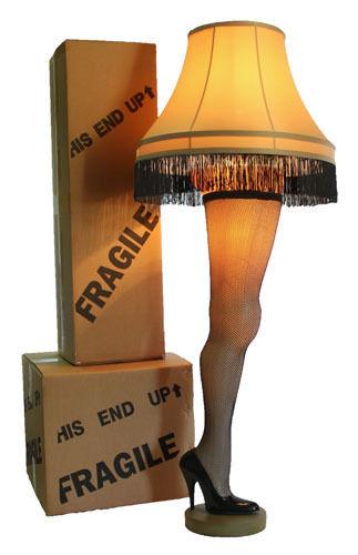 Christmas Leg Lamp Full Size  Full Size 50 Inch Leg Lamp from A Christmas Story