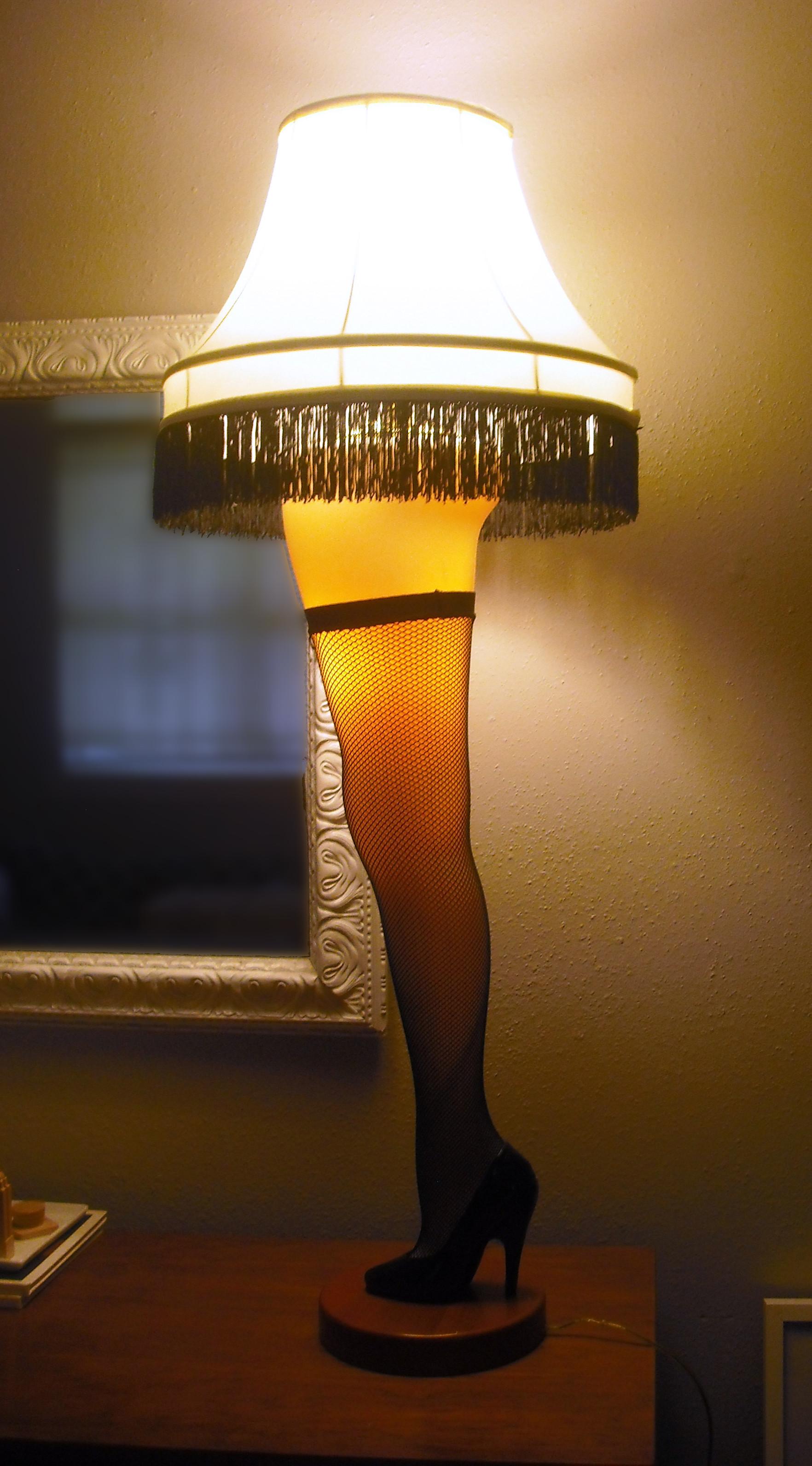 Christmas Leg Lamp Full Size  seasonal