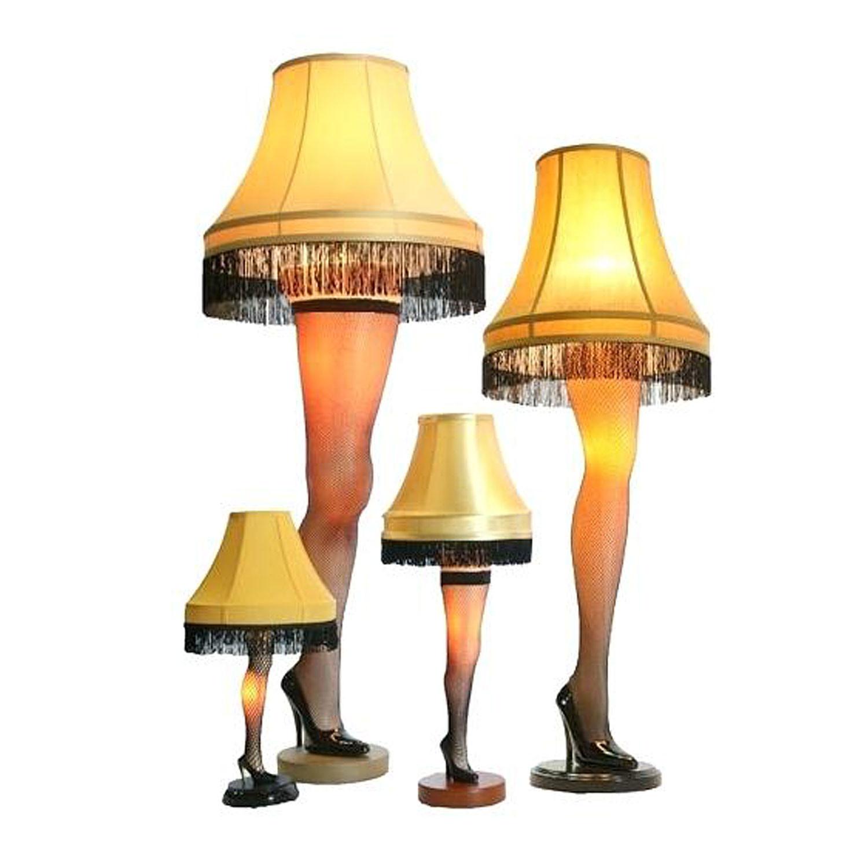 Christmas Leg Lamp Full Size  A Christmas Story House Full Size Leg Lamp 45