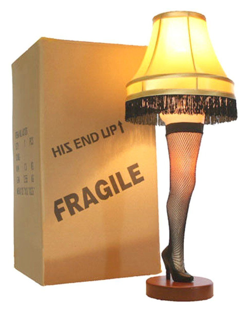 """Christmas Leg Lamp Full Size  Fat Kid Deals on Twitter """"FRA GEE LAY A Christmas Story"""