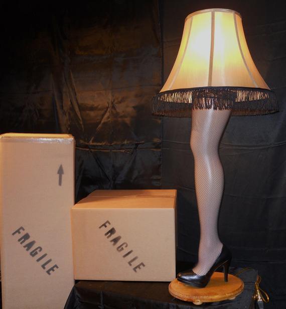 Christmas Leg Lamp Full Size  Unavailable Listing on Etsy