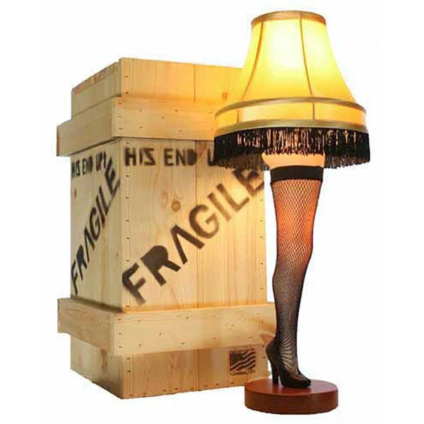 Christmas Leg Lamp Full Size  Lamp clipart a christmas story Pencil and in color lamp