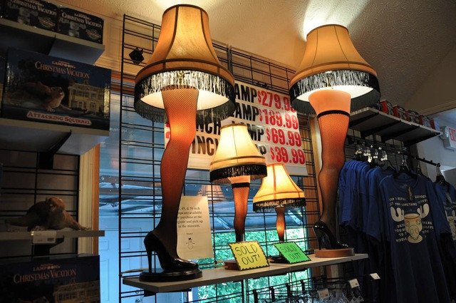 Christmas Leg Lamp Full Size  Christmas Story Movie es to Life in Cleveland Albany