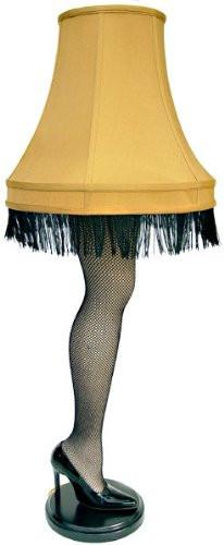 Christmas Leg Lamp Full Size  45 inch Leg Lamp