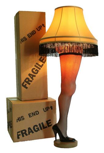 """Christmas Leg Lamp Full Size  A Christmas Story Full Size 50"""" Deluxe Leg Lamp"""