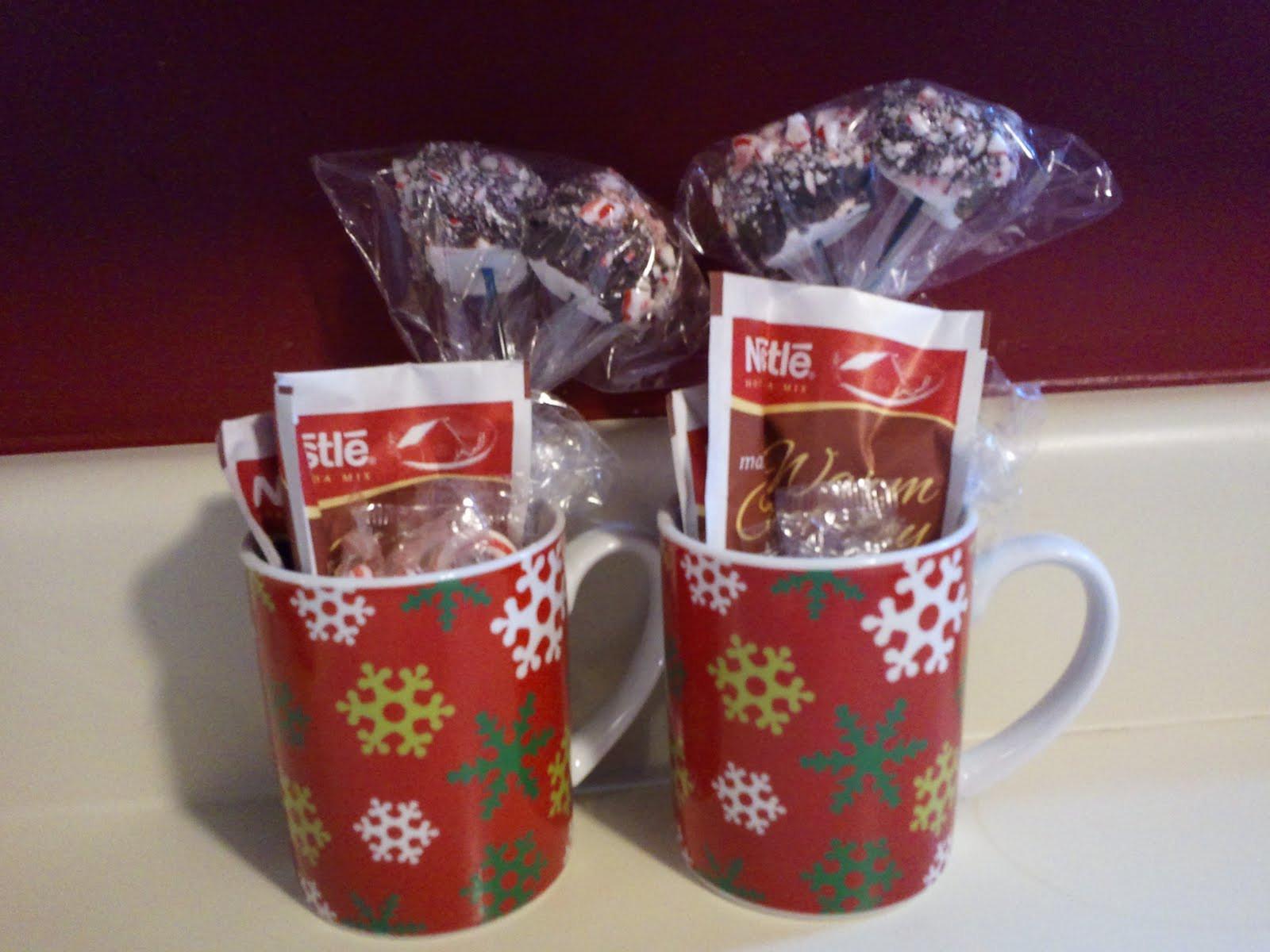Christmas Mug Gift Ideas  Peppermint Hot Chocolate Stirrers Homemade Christmas